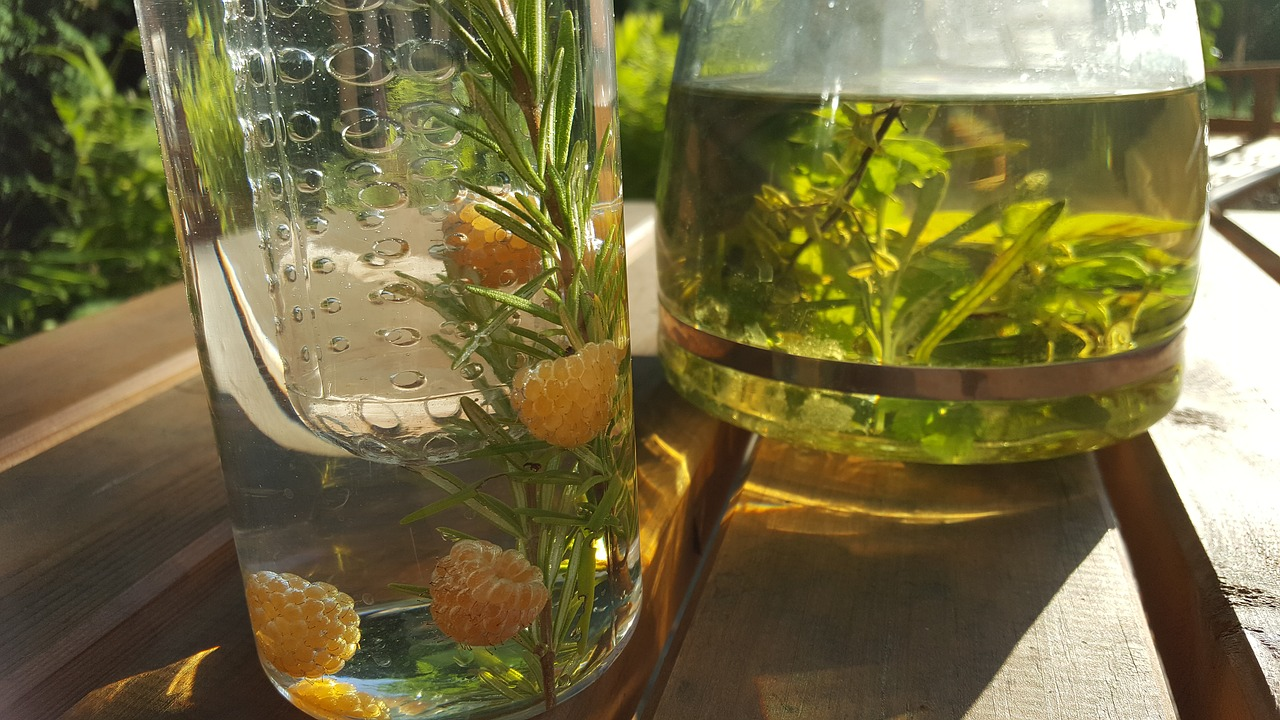 Herb oil infusions